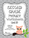 Second Grade Phonics Unit 10 Worksheets