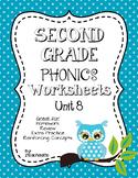 Second Grade Phonics Unit 8 Worksheets