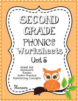 Second Grade Phonics Unit 5 Worksheets