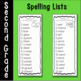 Second Grade Phonics and Spelling Pattern Spelling Lists