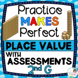 Place Value Activities and Assessments - 2nd Grade