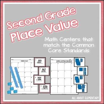 Second Grade Place Value {CCSS}