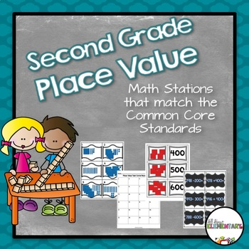 Second Grade Place Value {CCSS}