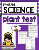 Second Grade Plant Test