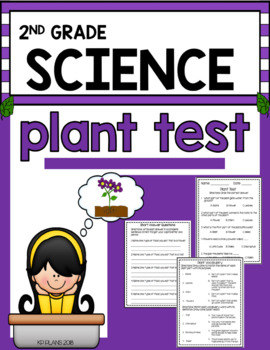 Second Grade Plant Test