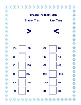 Second Grade Practice-Winter Themed Math Worksheets that address 4 CCSS