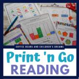 Second Grade Print 'N Go Winter Literacy