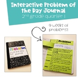 2nd Grade Problem of the Day Interactive Journal First Nin