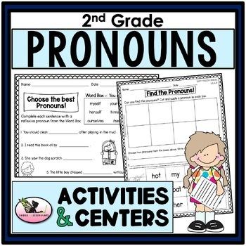 Second Grade Pronouns