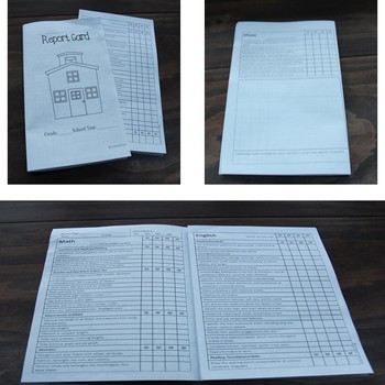 Second Grade Quarterly Report Card