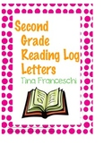 Second Grade Reader's Log Letters