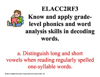 Second Grade Reading CCGPS Standards