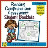 Second Grade Reading Comprehension Assessment Booklets