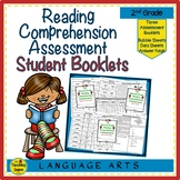 Second Grade Reading Comprehension Assessment Booklets