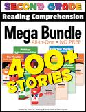Second Grade Reading Comprehension NO-PREP ALL-IN-ONE MEGA