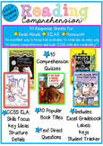 Reading Comprehension of the Week! 2.0-2.9, A Year of Weekly Quizzes!