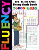Second Grade Reading Fluency Bundle RTI Intervention