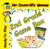 Second Grade Reading Games Kit