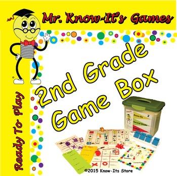 Second Grade Reading Games Kit