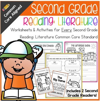 Second Grade: Reading: Literature Common Core No Prep Packet