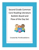 Second Grade Reading Literature Common Core Standards Bulletin Board Set