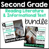 Second Grade: Reading Literature and Informational Text Strategies Bundle