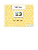 Second Grade Reading Street Common Core Reading Slides (A Froggy Fable)