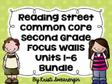 Second Grade Reading Street Focus Wall Complete Bundle (Units 1-6)