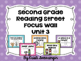 Second Grade Reading Street Focus Wall Unit 3