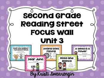 Second Grade Reading Street Focus Wall Unit 3
