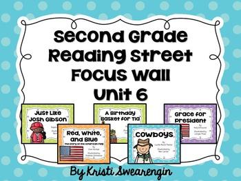 Second Grade Reading Street Focus Wall Unit 6