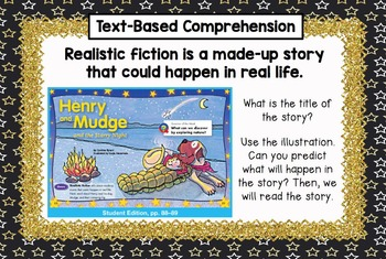 Second Grade Reading Street - Henry & Mudge and the Starry Night - Unit 1 Week 3