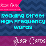 Second Grade Reading Street High Frequency Word Flash Cards