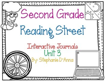Second Grade Reading Street Interactive Journal Unit 3