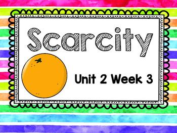 Second Grade Reading Street - Scarcity - Unit 2 Week 3