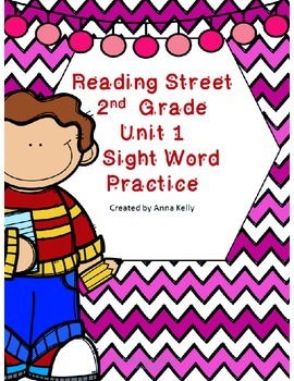 Second Grade Reading Street Sight Word Practice Unit 1