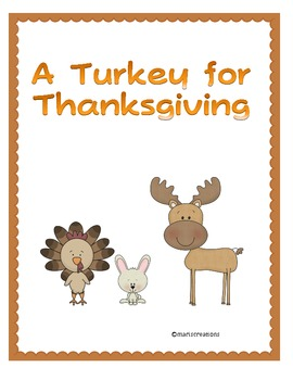 Second Grade Reading Street Unit 2- A Turkey for Thanksgiving