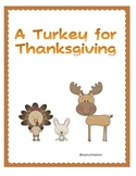 Second Grade Reading Street Unit 2- A Turkey for Thanksgiving