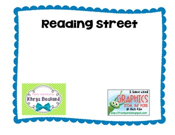 Second Grade Reading Street Unit 2 Week 4 Concept Map