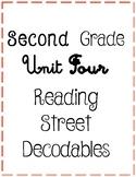 Second Grade Reading Street Unit Four Decodables