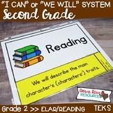 Second Grade Reading TEKS I Can Statements {ELAR Standards}