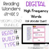 Google Slides™ Second Grade Reading Wonders DIGITAL High F