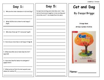 Reading Wonders 2nd Grade Leveled Reader Brochure U1 W1 (Approaching Level)