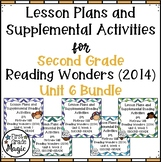 Second Grade Reading Wonders UNIT 6 Bundle