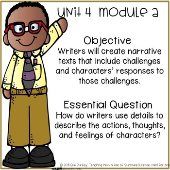 Second Grade Ready Gen Objectives