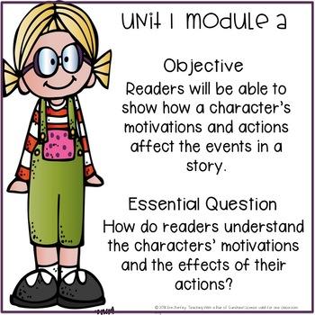 Third Grade Ready Gen Objectives