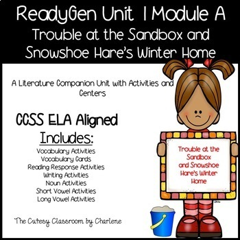 ReadyGen Unit 1 Module A Second Grade - Activities and Centers