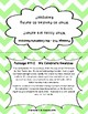 Second Grade Retell Passages Set B (#11-20) DIBELS