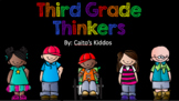 Third Grade Thinkers (2nd Grade Review)!
