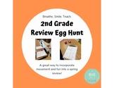 Second Grade Review Egg Hunt